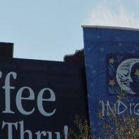 indigo coffee billboard fog effects Mist Works