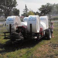 custom mobile mist trailer Mist Works 2014