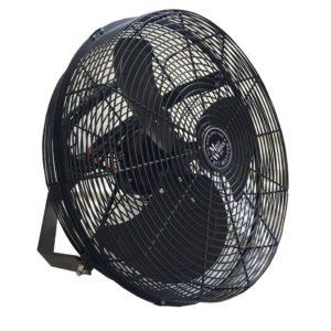 18b3b side 18 inch epoxy indoor outdoor fan mist works 3 speed fan