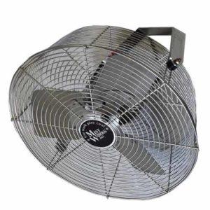 18 inch outdoor stainless steel fan & bracket
