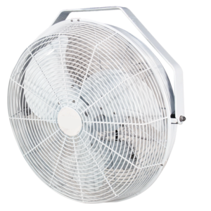 indoor outdoor circulation fan white 18""