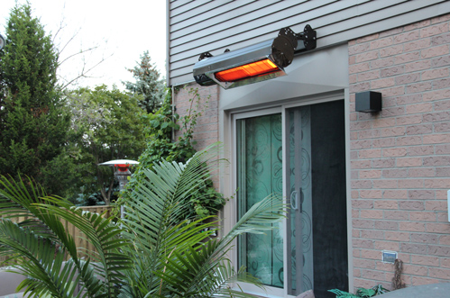 Habanero patio heater ng natural gas Mist Works