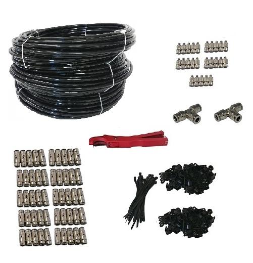 misting line kit patio 50 nozzles