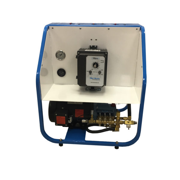 Wave variable frequency drive misting pump