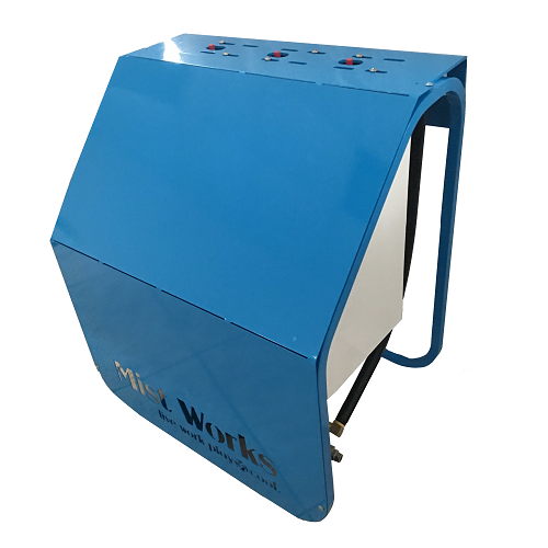 WAVE mist pump powder coated cover