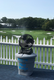 2018 Mist Works PGA Championship mist to go rental fan