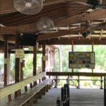 Godwin's Gatorland Mist Works stainless steel fans outdoor cooling Orlando FL