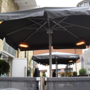 outdoor patio heaters electric Mist Works