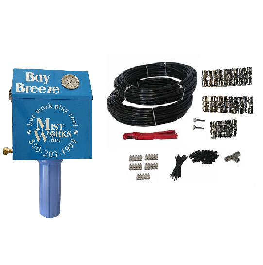 Mid Pressure Misting Kit with Pump 25 nozzles