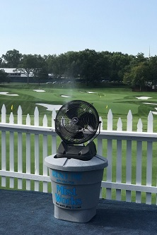 Mist Works fan rentals PGA Championship