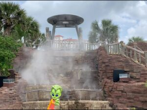 Alien Golf Mist Works cooling & FOg effects pensacola beach