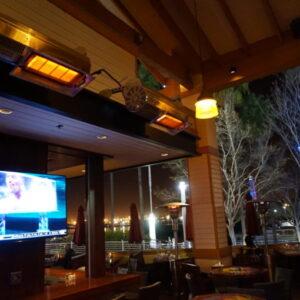 Habanero Heaters IR Energy restaurant patio