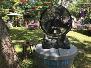 rent misting fans florida houston new orleans tampa atlanta Mist Works