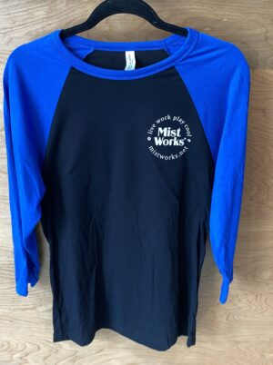 Mist Works baseball jersey shirt