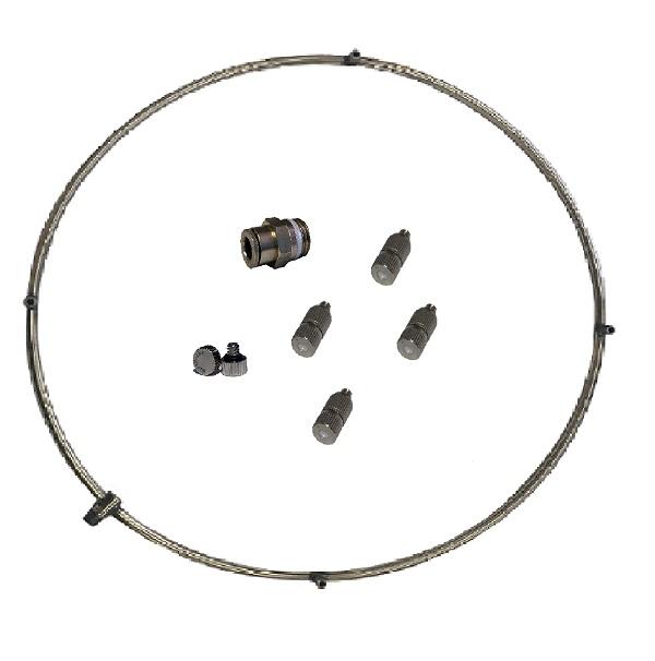 misting ring kit 18 inch fan