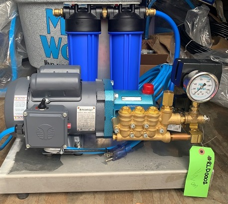 RCD.50 misting pump with dual filters